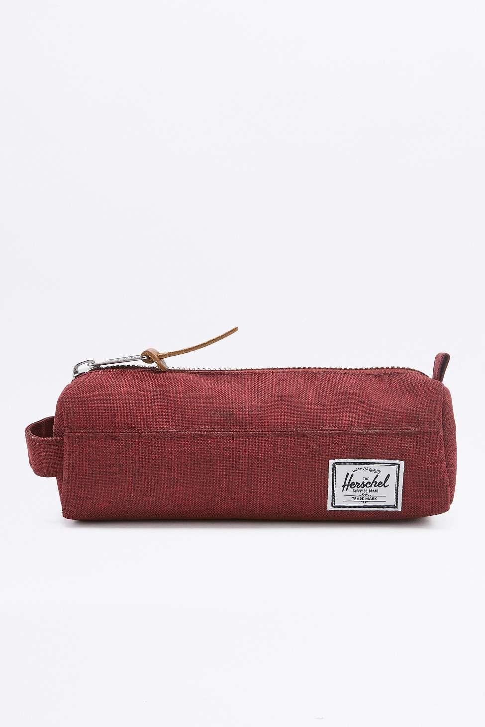 3e1a8b75823f Herschel Supply co. Settlement Wine Tasting Maroon Pencil Case ...