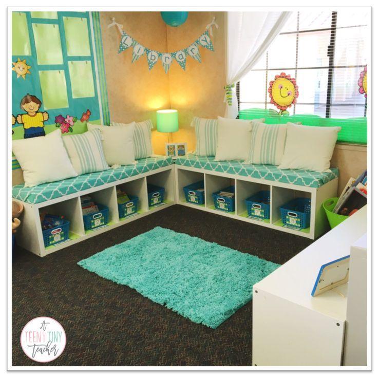 Kindergarten Classroom Decor Themes : Classroom library makeover a teeny tiny teacher