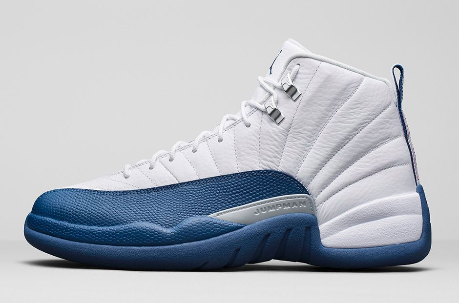 93cb246d1a072b Air Jordan 12 Retro French Blue