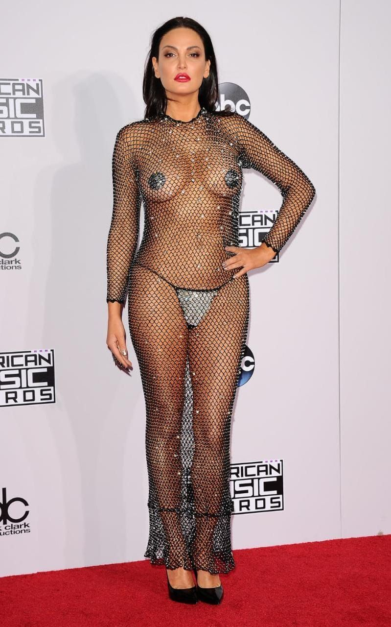 The most revealing red carpet dresses of all time  fd184e36d