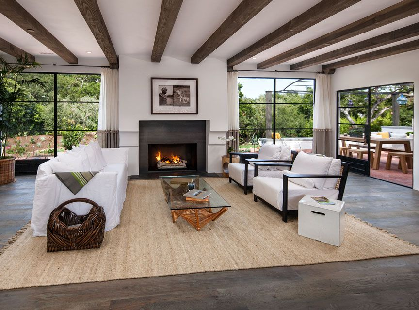Stunning update of a 1960s california ranch house 2015 - Modern ranch home interior design ...