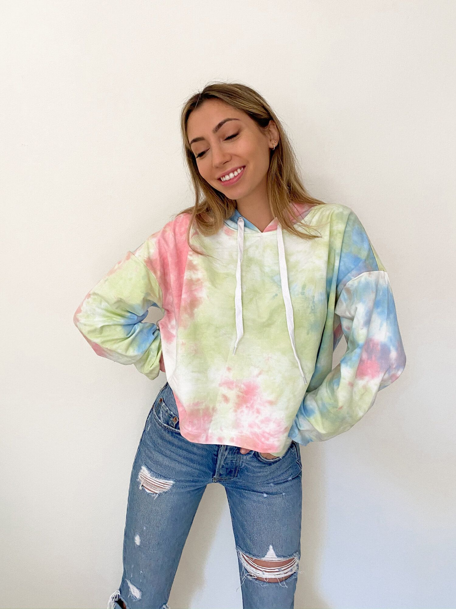 Hope tie dye hoodie in 2020 tie dye hoodie tie dye hoodies