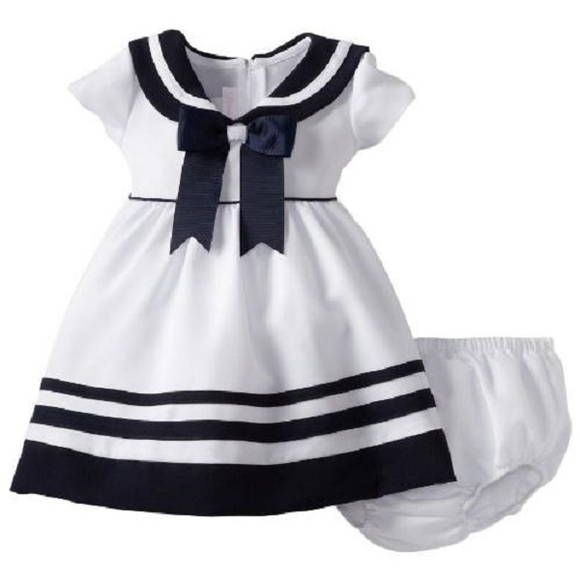 Mayoral Baby Girls 3M-24M Pin Dot Stripe Social Party Dress Blue, Pink, Red