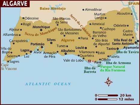 Algarve Coast Algarve Portugal Rejser