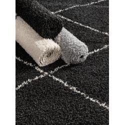 Photo of benuta Essentials Hochflorteppich Beni Anthrazit 133×190 cm – Berber Teppichbenuta.de