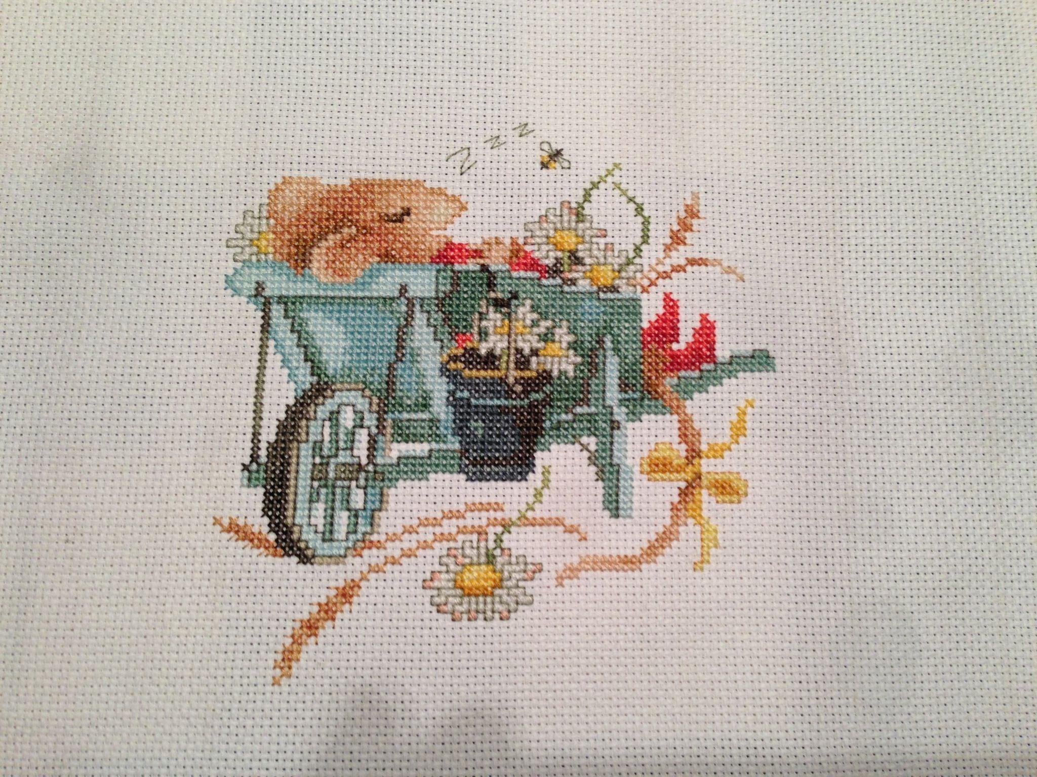 Vera Mouse criss stitch | SKS Finished Cross Stitch and Beading ...