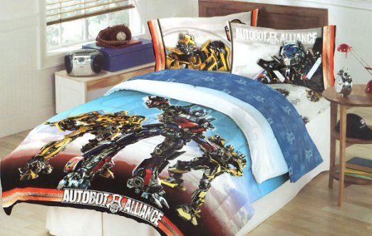 Transformers Battle Continues Autobot, Transformers Bedding Full Size