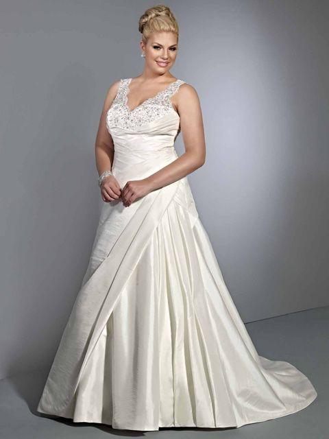 descubre que tipo de vestido deben utilizar las novias gorditas