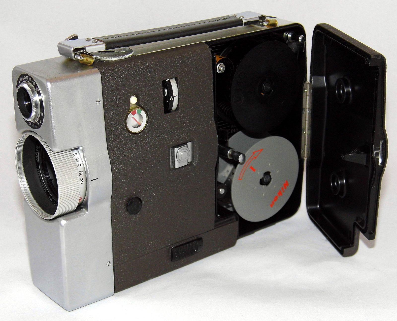 Vintage Nikkorex Zoom 8 Movie Camera Cine Zoom Nikkor 8 32mm F 1 8 Lens And Slr Finder Made In Japan Circa 1960s Movie Camera Camera Fujifilm Instax Mini