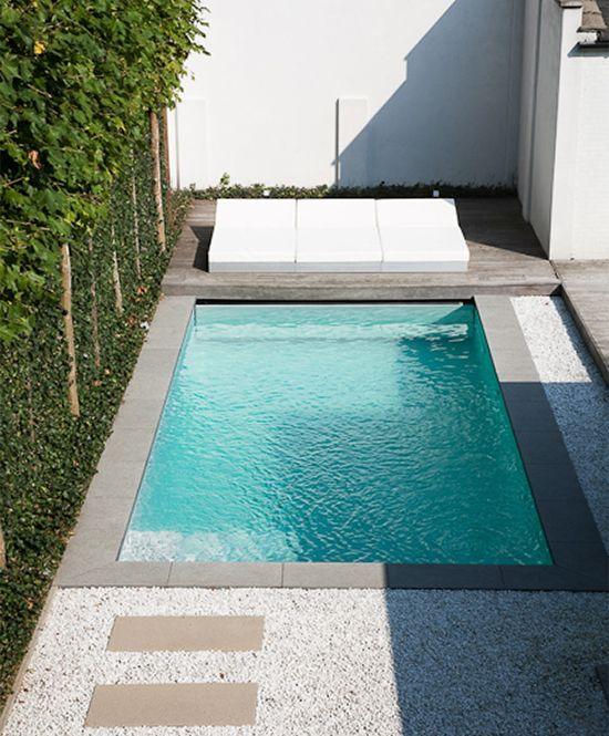 Revestimiento piscinas modernos buscar con google exterior design mini piscina patios - Piscinas prefabricadas pequenas ...