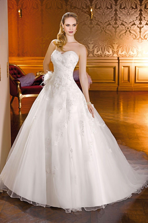 Épinglé par Angela knuth-otto sur Robes  Robe de mariée princesse