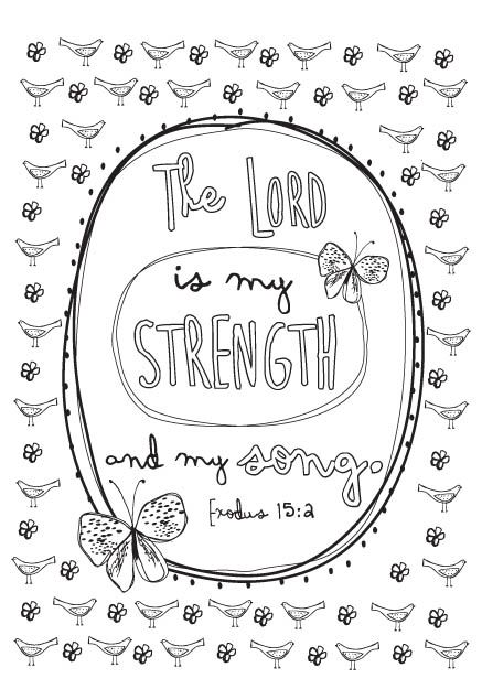 Coloring Book Bible Verses : Coloring page from joy for the journey coloring book