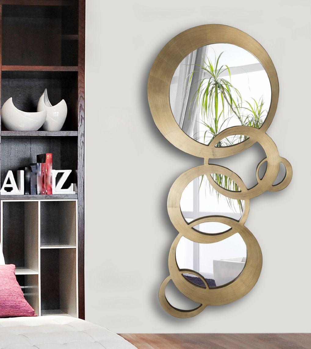 Espejos decorativos espejos de cristal espejos redondos for Disenos de espejos decorativos