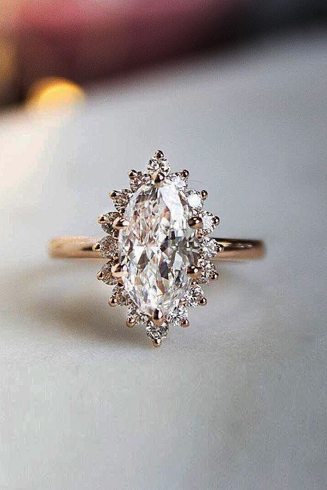 64 Unique Engagement Rings That Will Make Her Happy 2019 12
