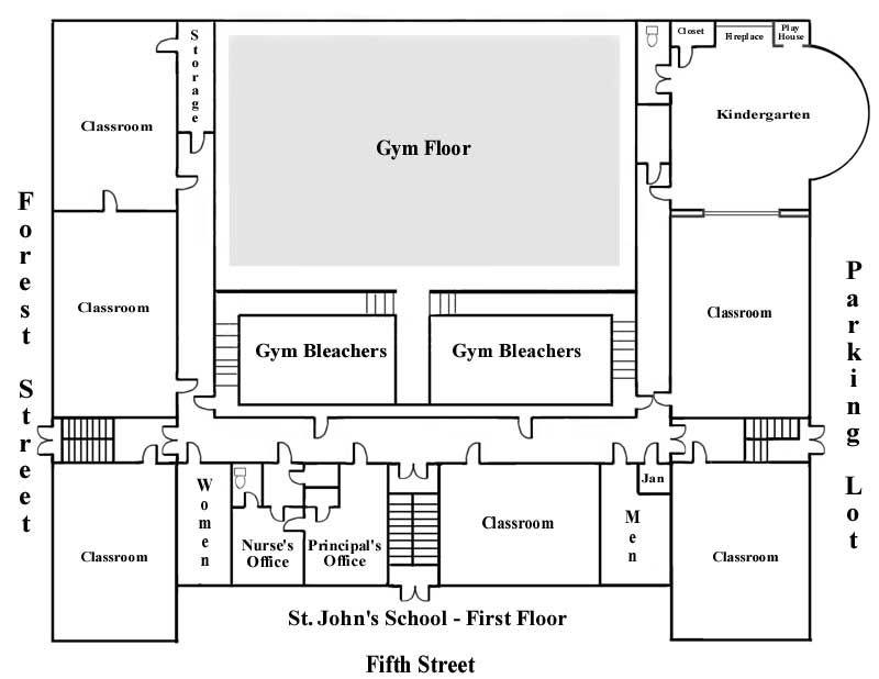 School Floor Plans In 2020 School Floor Plan School Floor School Building Plans