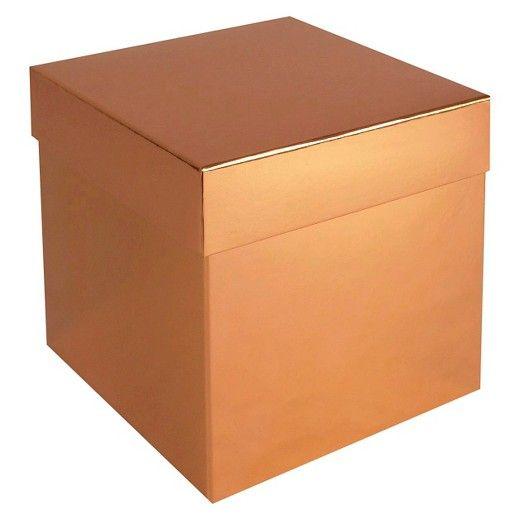 Gift Box - Copper - Spritz™  Target  sc 1 st  Pinterest & Gift Box - Copper - Spritz™ : Target | christmas stuff | Gift ...
