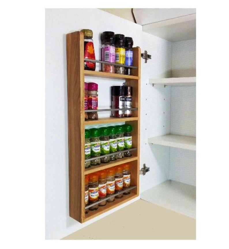 pantry rack door spice rack cabinet