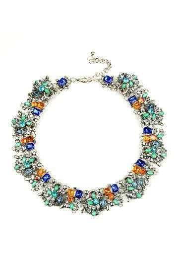 a208dca06 Eye Candy Los Angeles Ivy Bib Necklace | Jewelry that I Want | Bib ...