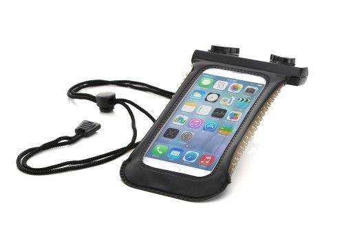 ArktisPRO Wasserdichte Schutzhülle für Smartphones - Schwarz