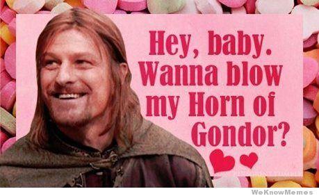 5c811f02450c9f19486ae9f0e833294f horn of gondor? lord of the rings valentines cards boromir,Disney Valentine Meme