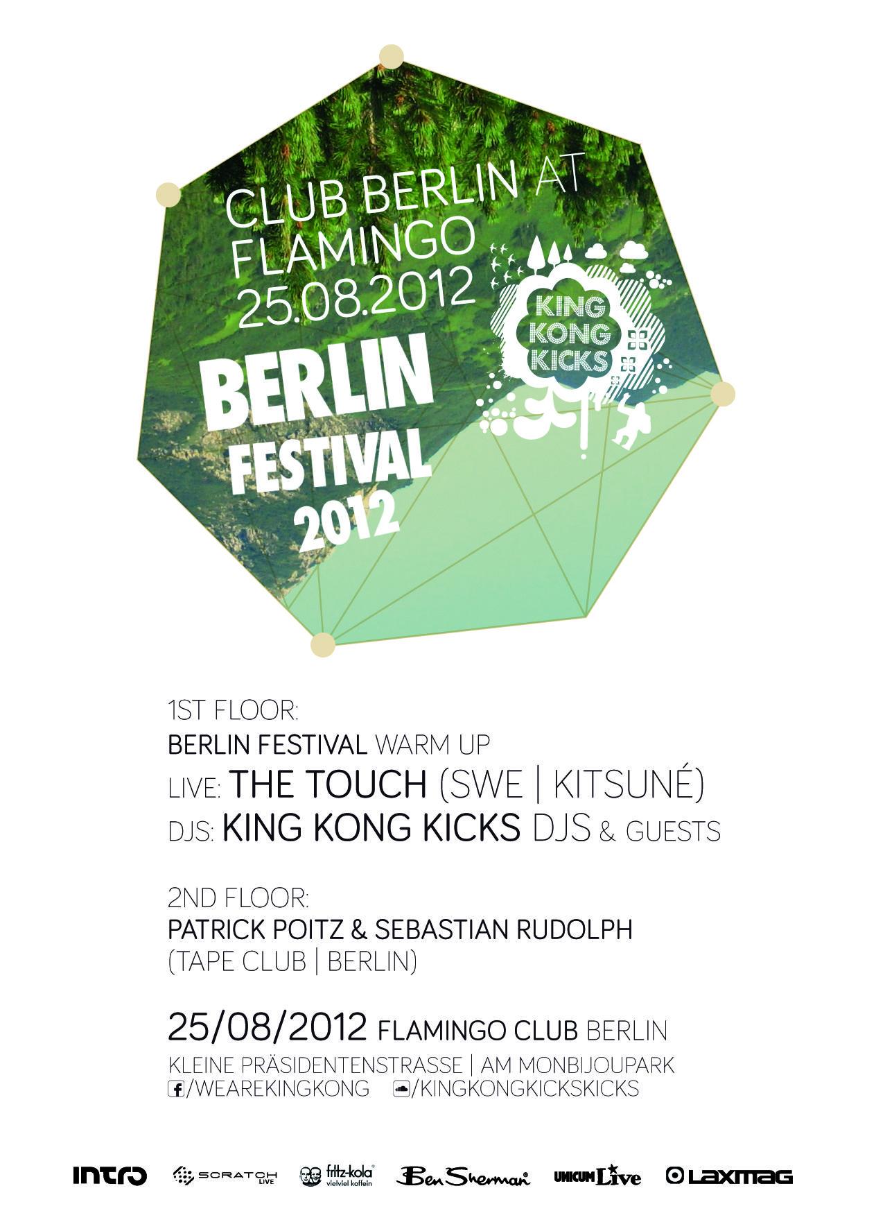 Club Berlin w/ King Kong Kicks