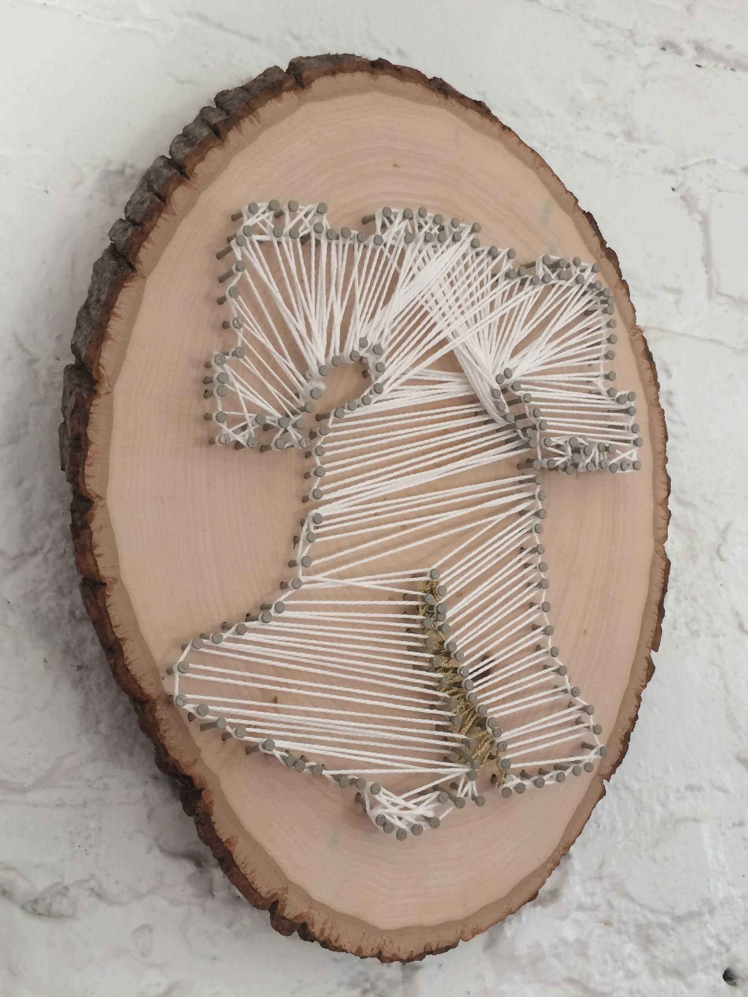 How to Nail and String Art, Liberty Bell, Philadelphia