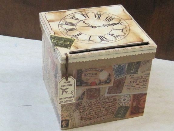 Une urne pour un voyage de noces ou retraite anniversaire pinterest mariage voyage et - Fabriquer une urne anniversaire ...