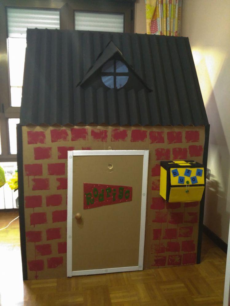 Cómo Construir Una Casa De Cartón Para Niños Casas De Cajas De Cartón Casas De Caja Casas De Cartón