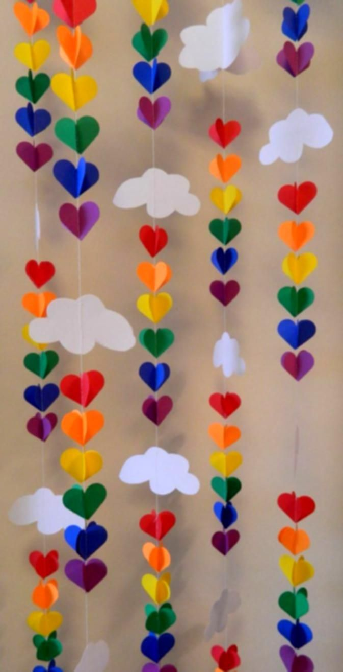 Home Design Ideas About Rainbow Party Decorations On Diy Balloon Decoration For Birthday