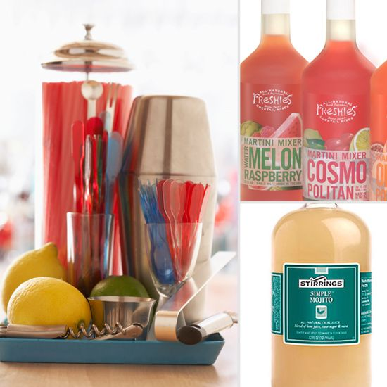 Healthy Premade Cocktail Mixes That  Taste Good! Mojitos, Margaritas, Cosmos, Bloody Marys, and more!