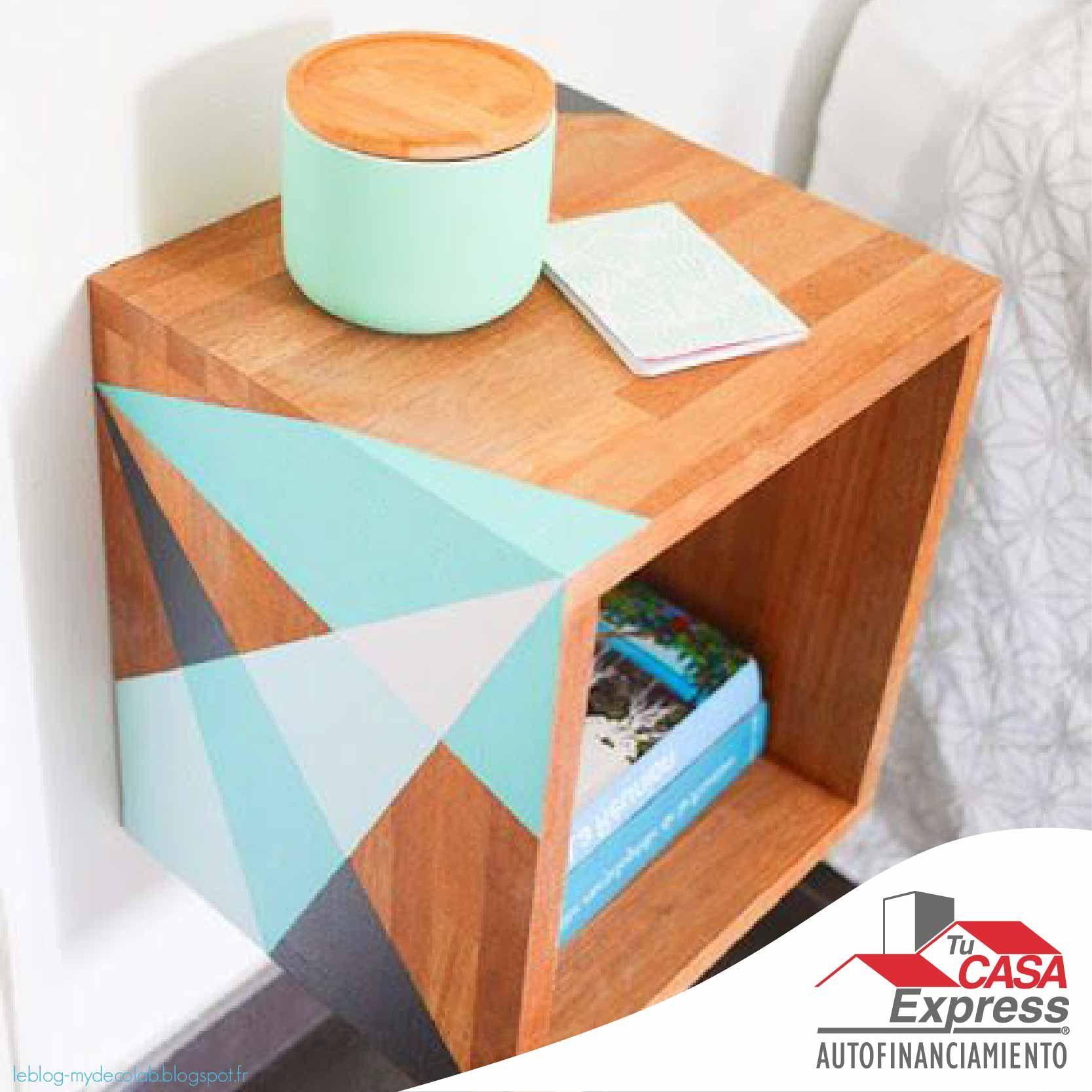 Para Decorar Tu Hogar Con Un Estilo Diferente Dale Color A Tus  # Muebles Geometricos