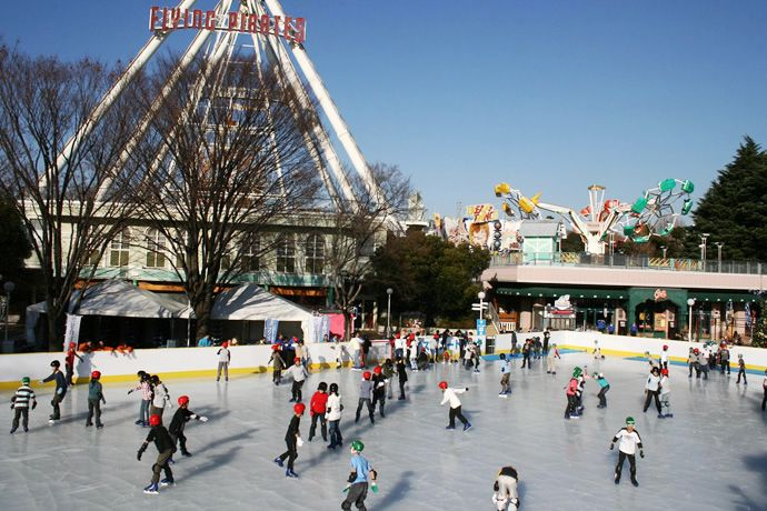 Outdoor ice rinks / Official Tokyo Travel Guide GO TOKYO