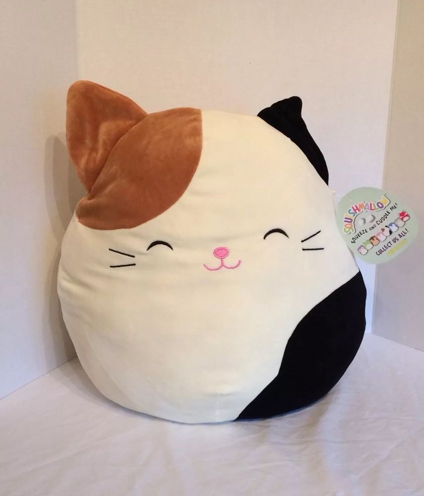 Squishmallow Selling Out Cam Calico Cat Cameron Kellytoy Hot Christmas Toy 18in Calico Cat Christmas Toys Calico