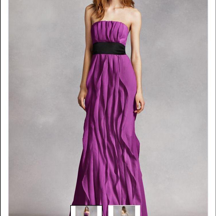 Bonito Vestido De La Dama De Honor Vera Wang Ideas - Ideas de ...
