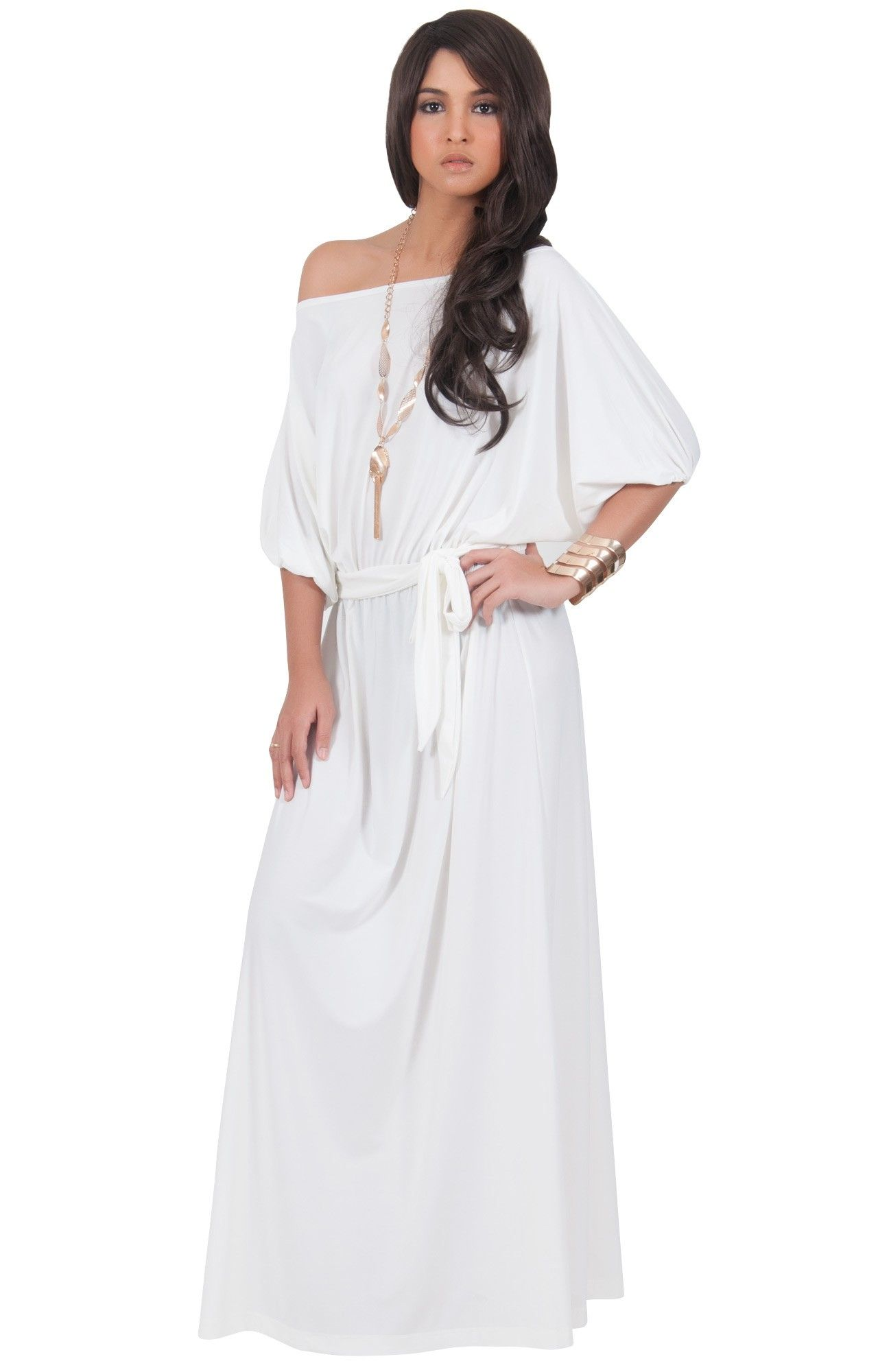 one shoulder summer dresses