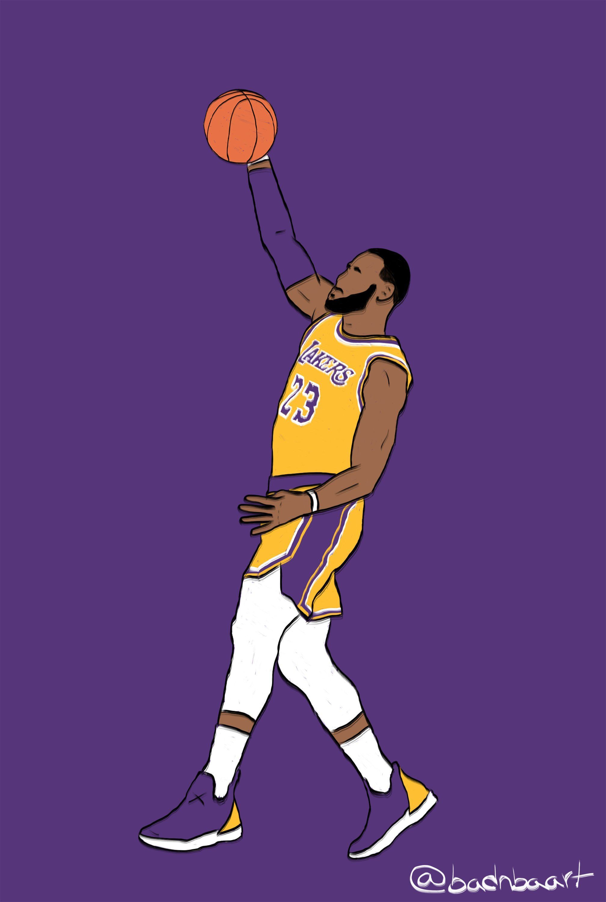 Pin By Lucas Drawer On Painting Lebron James Wallpapers Lebron James Lebron James Lakers