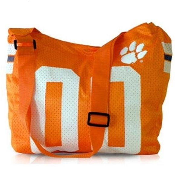 e92aa507647 NWT  50 CLEMSON TIGERS Jersey Purse RETIRED RARE BRAND NEW WITH TAGS!  RETAIL   50