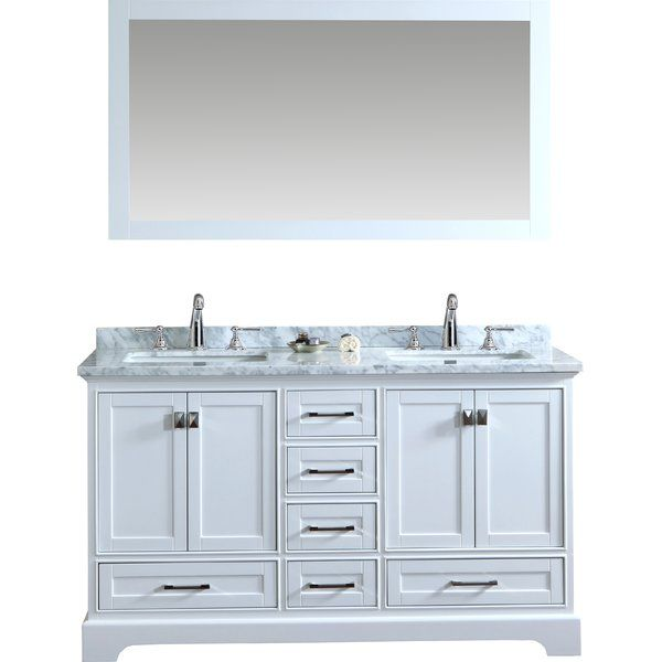 Stian Double Sink Bathroom Vanity Set | Double sink bathroom ...