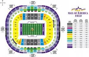 Minnesota Vikings Seating Chart Bing Images