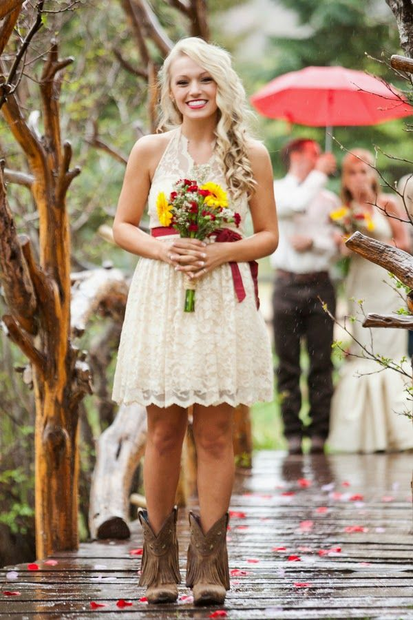 Rustic Cowboy Themed Wedding The Frosted Petticoat