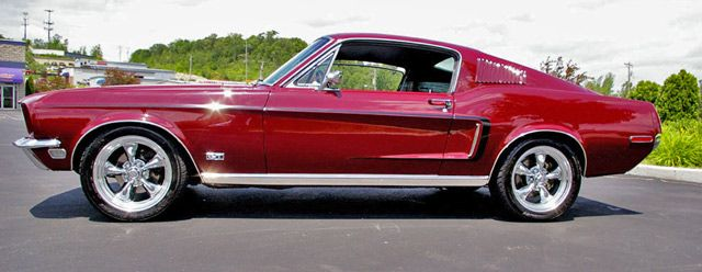 Classic Car Photo Gallery Mustang Gt Fastback Drivers Side