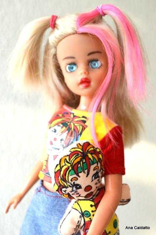 Boneca Susi Emilia do Sitio do PicaPau Amarelo de 2001