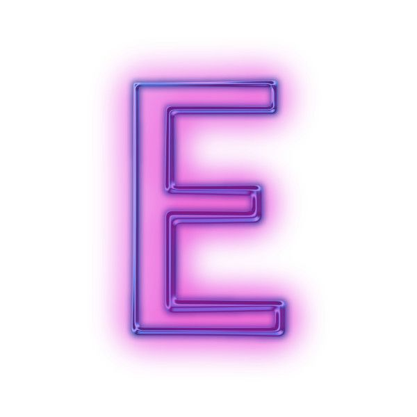 Download Free Capital Letter E Glowing Purple Neon Icon Icons Etc Liked On Polyvore Featuring Letters Lettering Letter E Letter Icon