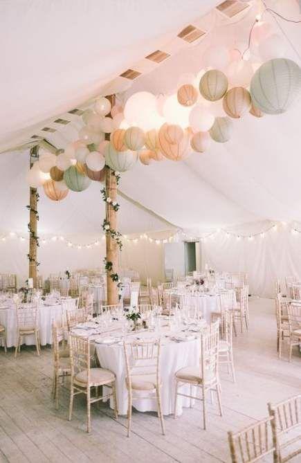 54+ Ideen Hinterhof Hochzeit Zelt Dekorationen Papierlaternen   – Wedding