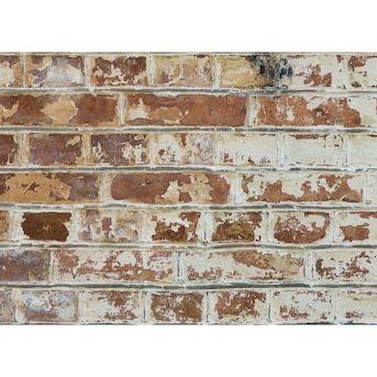 Home Decor Line Old Bricks Kitchen Panel Lowes Com Faux Brick Backsplash Faux Brick Walls Brick Backsplash Kitchen
