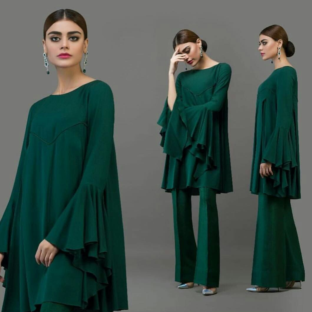 Simple Dress Designs Pakistani