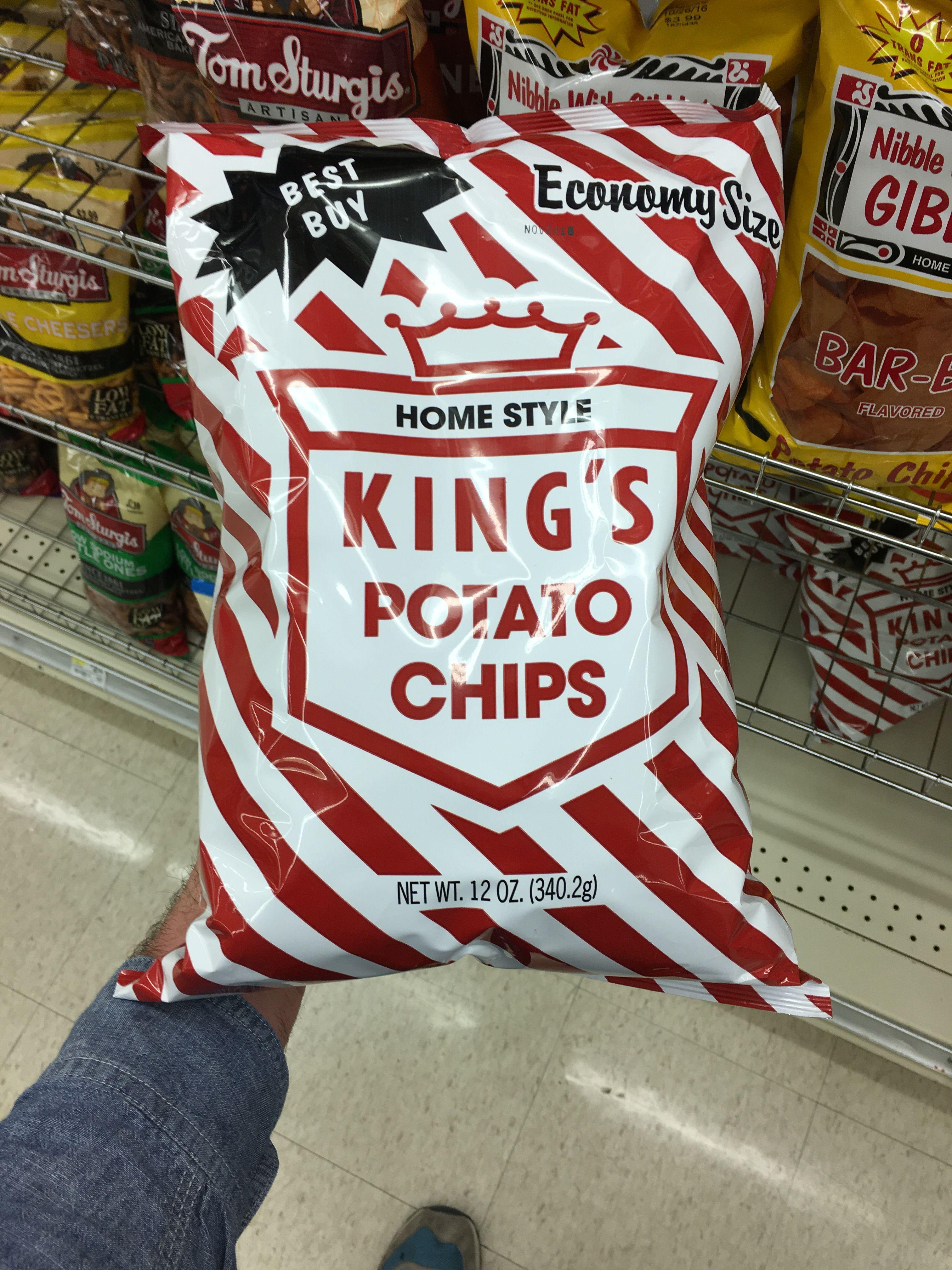 Best Buy Economy Size Homestyle King S Potato Chips Potato Chips
