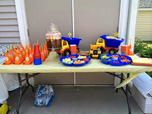 Construction Theme party