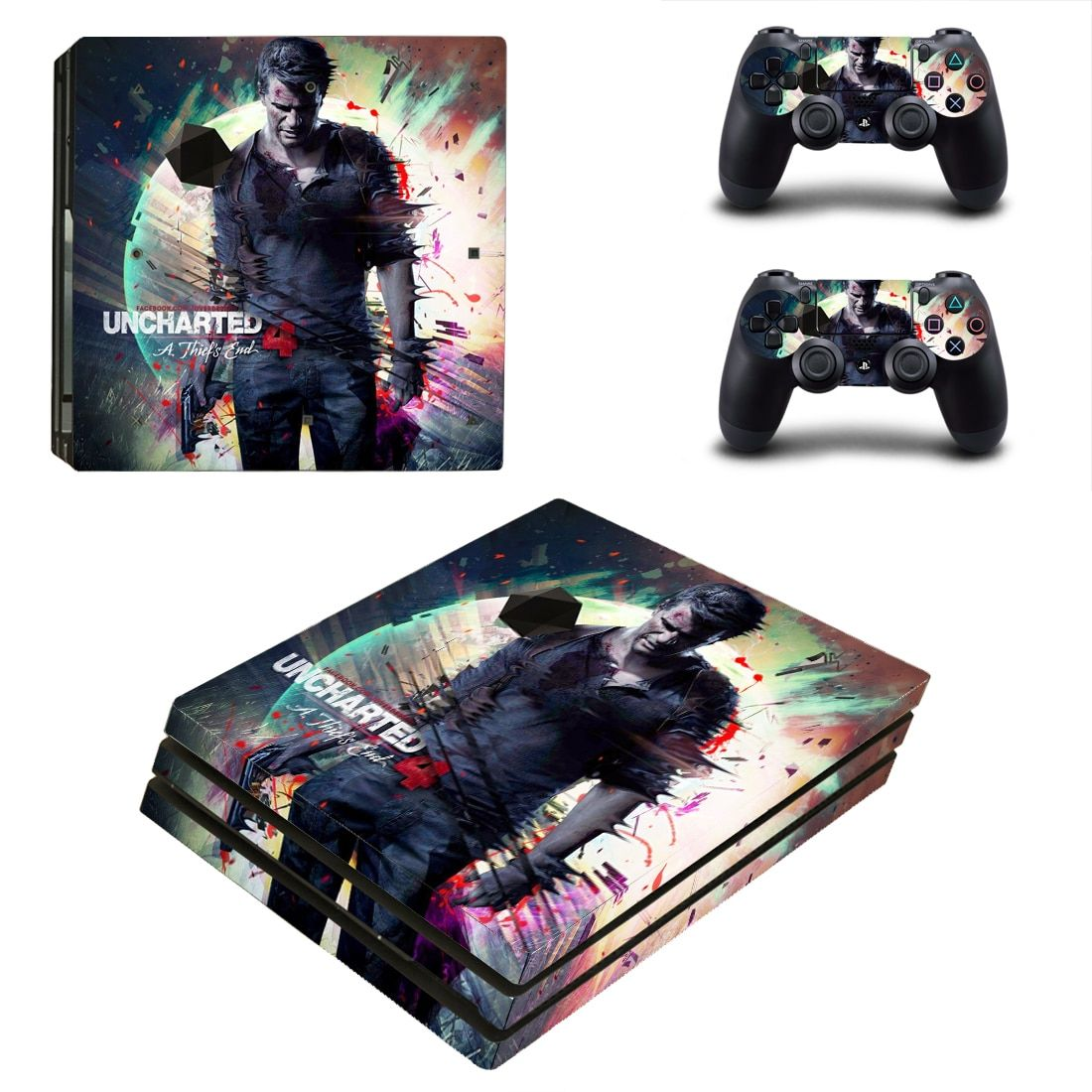 Uncharted 4 A Thief S End Style Skin Sticker For Ps4 Pro Console