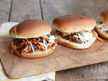Carolina Style Pulled Pork Sandwich